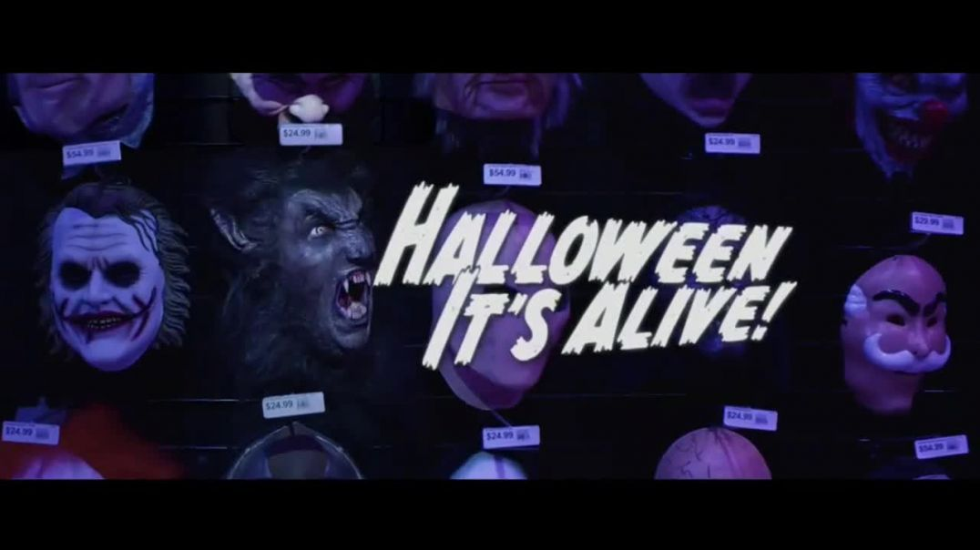Party City TV Commercial Ad Halloween Party Cups Ad Hanging Props & Costumes Song by Wil