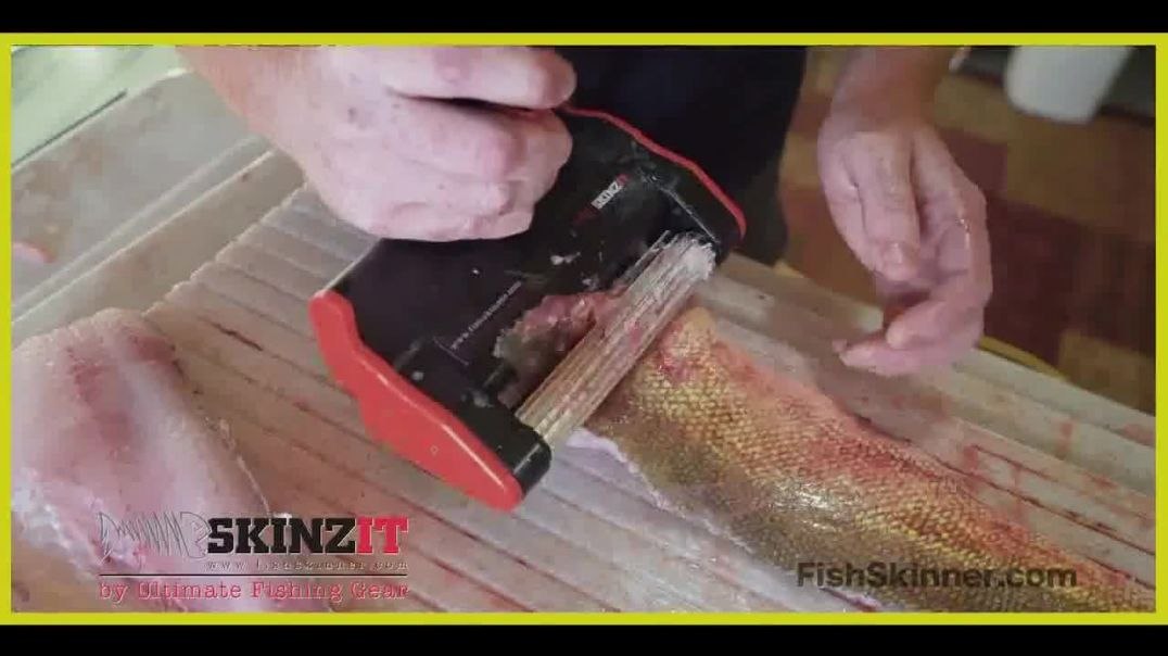 SKINZIT Fish Skinner TV Commercial Ad Bring Fun Back to Fishing.mp4