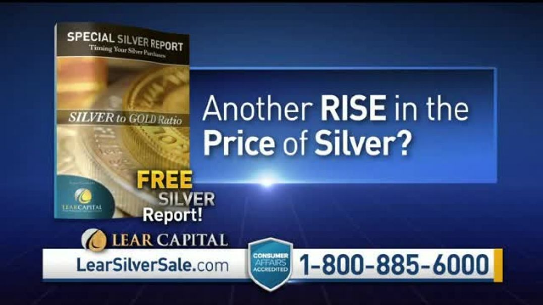 Lear Capital TV Commercial Ad Silver to Gold Ratio Free Silver Report.mp4