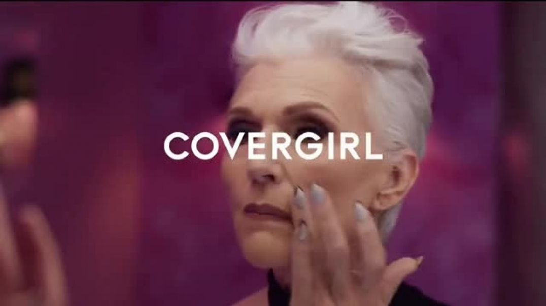 CoverGirl + Olay Simply Ageless Foundation TV Commercial Ad What Age Featuring Maye Musk.mp4