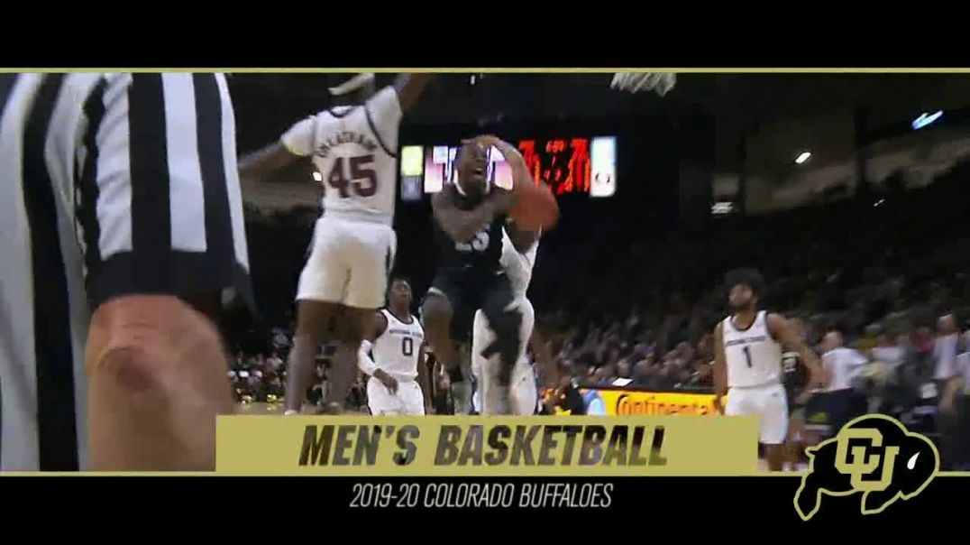 University of Colorado TV Commercial Ad 2019 Mens Basketball.mp4