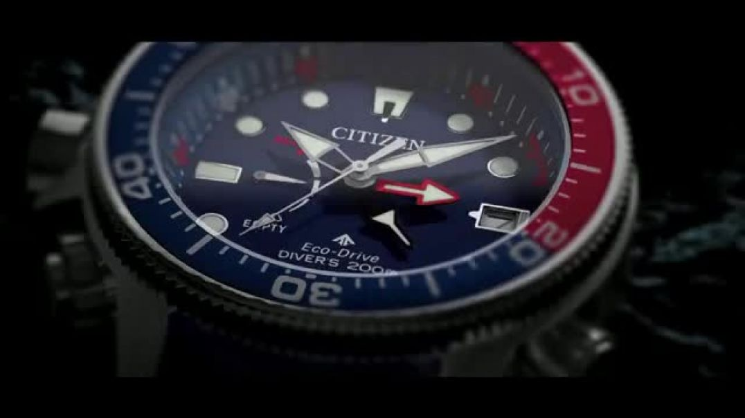 Citizen Watch Promaster Aqualand TV Commercial Ad Go Beyond Professional Diver.mp4