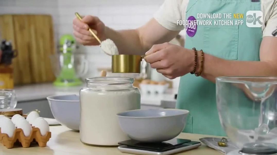 Food Network Kitchen App TV Commercial Ad Dan Shows How to Accurately Measure Flour.mp4