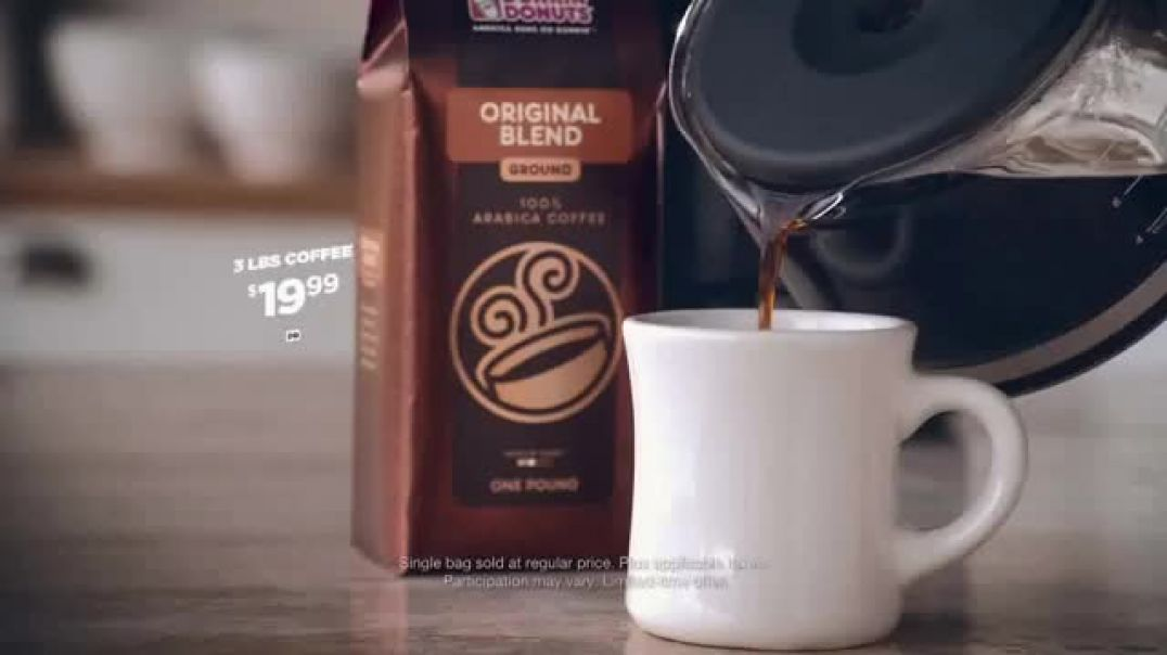 Dunkin Donuts TV Commercial Ad Whatever the Holidays Bring.mp4