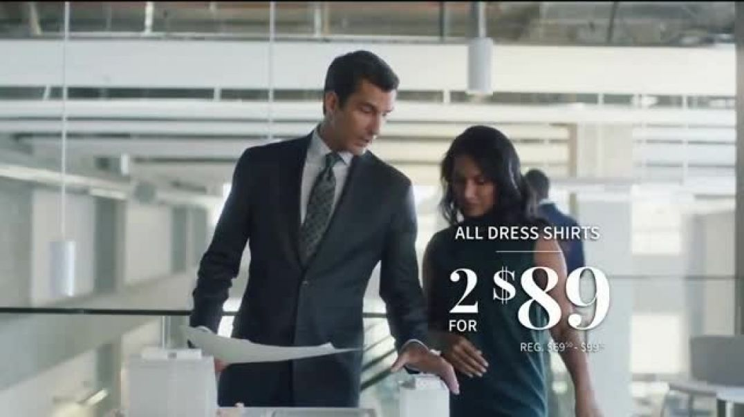 JoS. A. Bank Last Dash Gift Sale TV Commercial Ad Leather Jackets & Dress Shirts.mp4