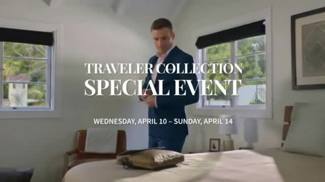JoS. A. Bank Traveler Collection Special Event TV Commercial Ad Ready for the Season.mp4