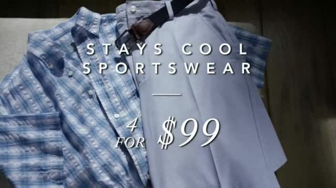 JoS. A. Bank The Super Weekend Sale TV Commercial Ad Shirts Ad Ties Ad Sportswear