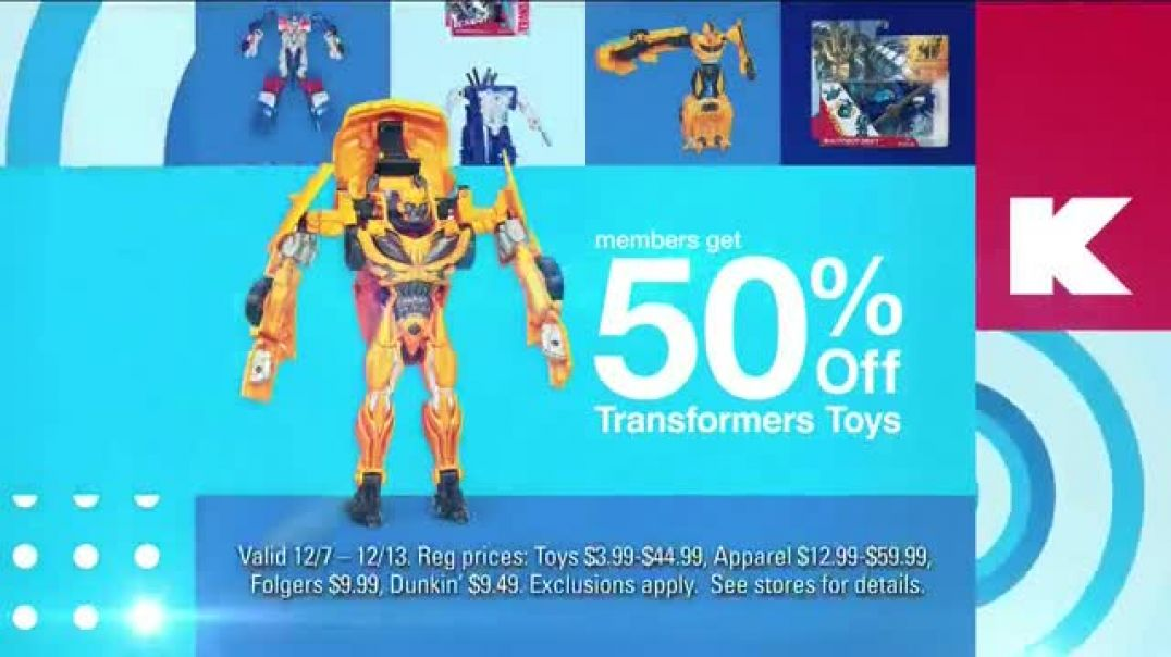Kmart Blue Light Member Special TV Commercial Ad Toys Ad Apparel and Coffee.mp4