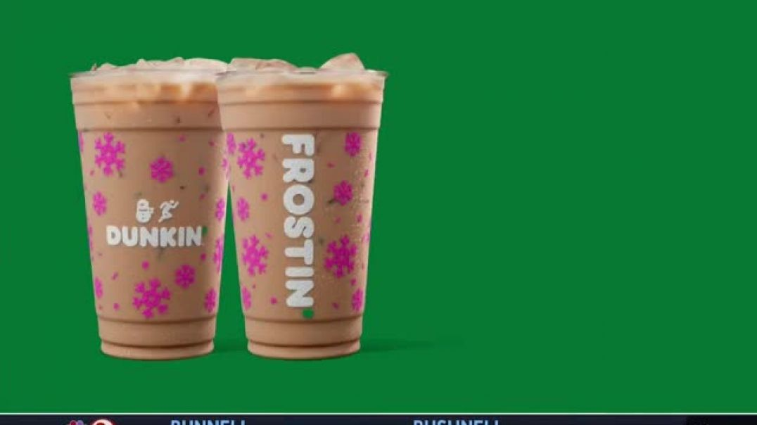Dunkin TV Commercial Ad Delightin with Dunkin Holiday Flavors.mp4