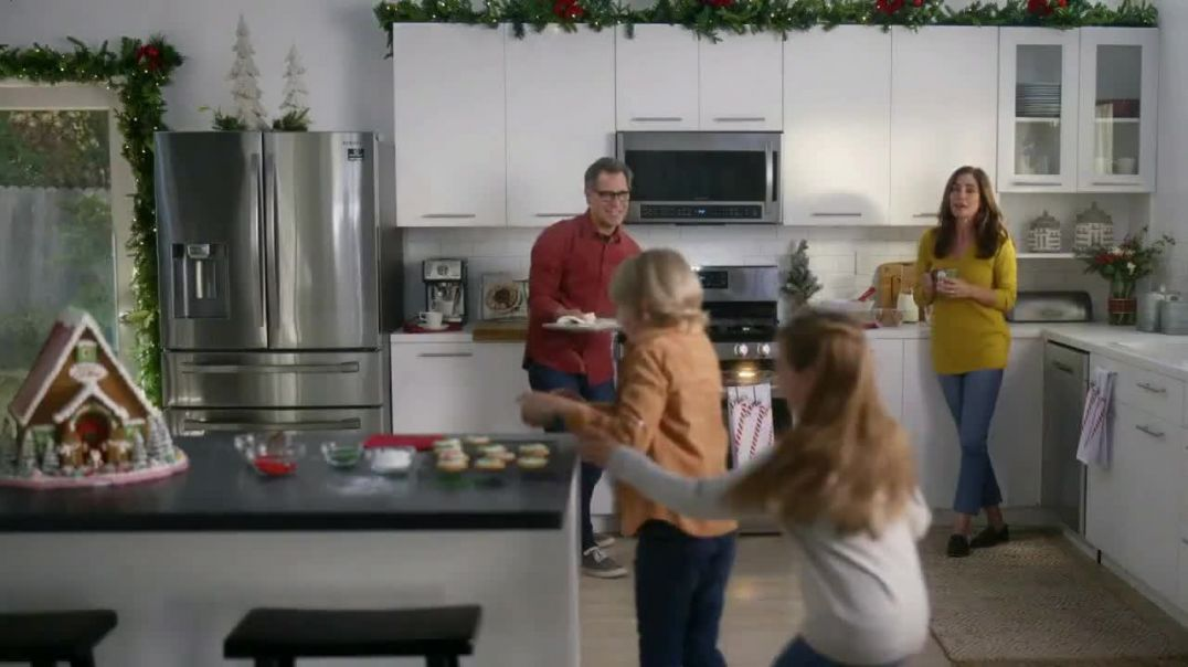 The Home Depot Black Friday Savings TV Commercial Ad Right Away GE Stainless Steel Kitchen Package.m