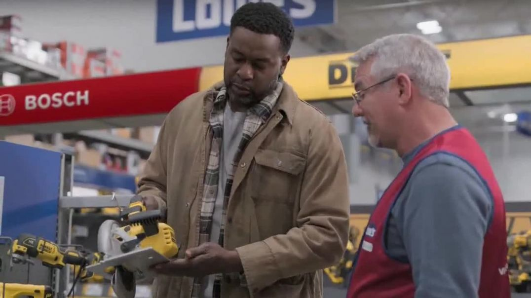 Lowes Black Friday Deals TV Commercial Ad Every Pro Deserves a Holiday Upgrade Dewalt Drill or Kit.m