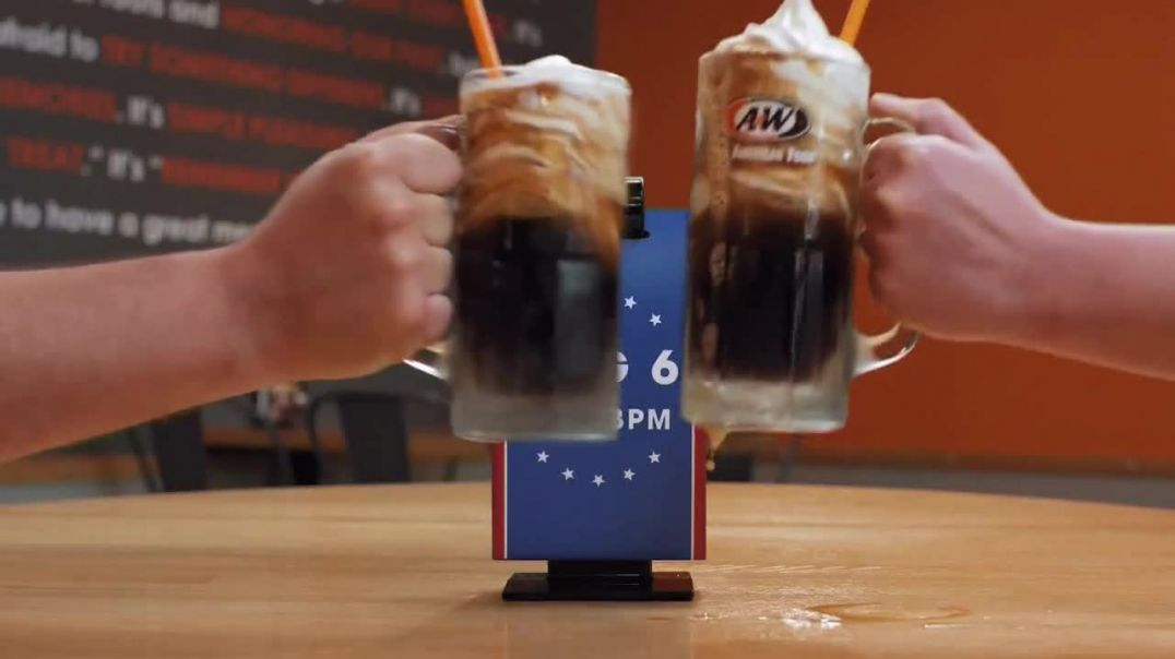 A&W Restaurants TV Commercials, 2019 National Root Beer Float Day Commercial.mp4