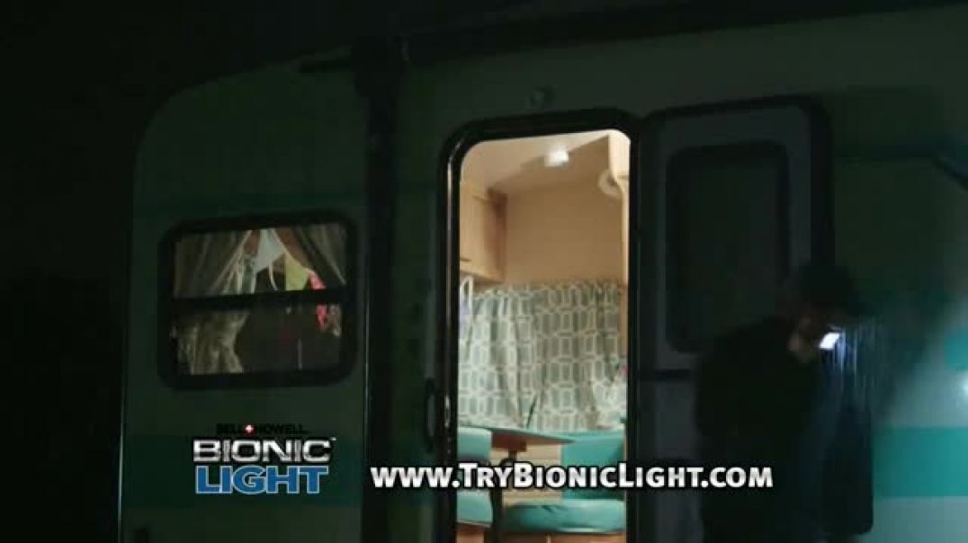 Bell + Howell Bionic Light TV Commercial Ad You Need Light .mp4