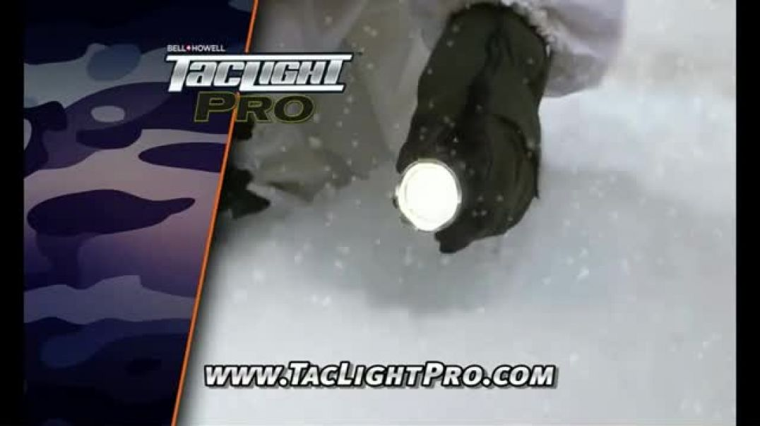 Bell + Howell TacLight Pro TV Commercial Ad One Light That Can Do Both Featuring Nick Bolton .mp4