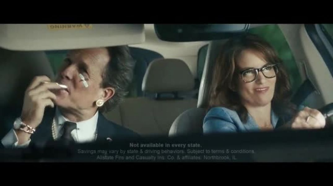 Allstate Drivewise TV Commercial Ad Mayhem MotherinLaw Featuring Tina Fey Ad Dean Winters .mp4