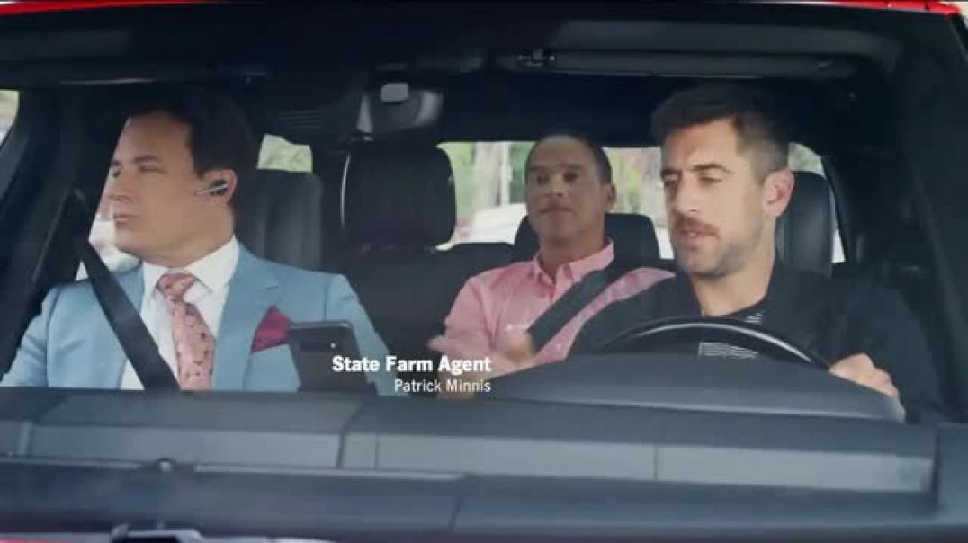 State Farm TV Commercial Ad Floor It Featuring Aaron Rodgers Ad Song by Judas Priest .mp4