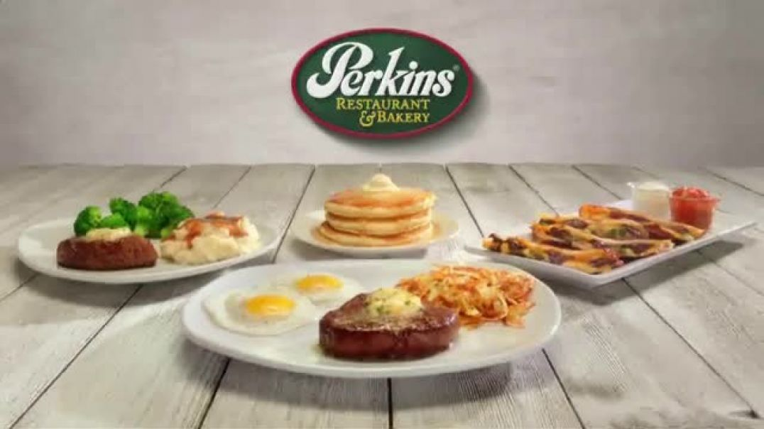 Perkins Restaurant & Bakery TV Commercial Ad Steak Dinner Any Occasion .mp4