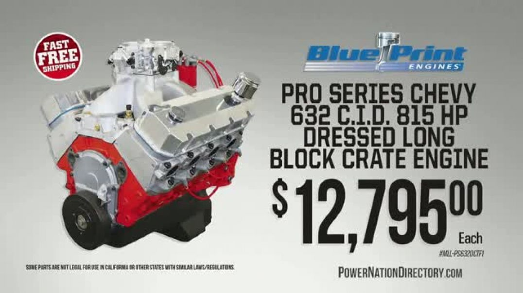 PowerNation Directory TV Commercial Ad Oils Ad Engines Ad Clutch Kits & Lowering Kits.mp