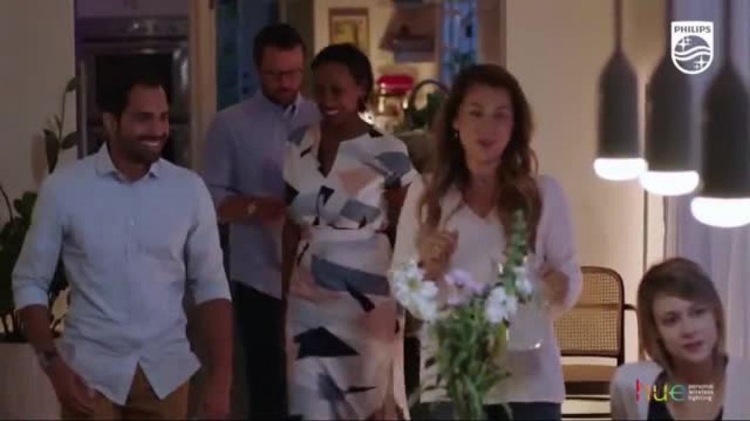 Philips Hue Smart Lighting TV Commercial Ad Light Up What Matters .mp4