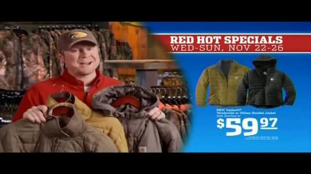 Bass Pro Shops 5 Day Sale TV Commercial Ad Red Hot Jacket & GPS Ft. Kevin VanDam