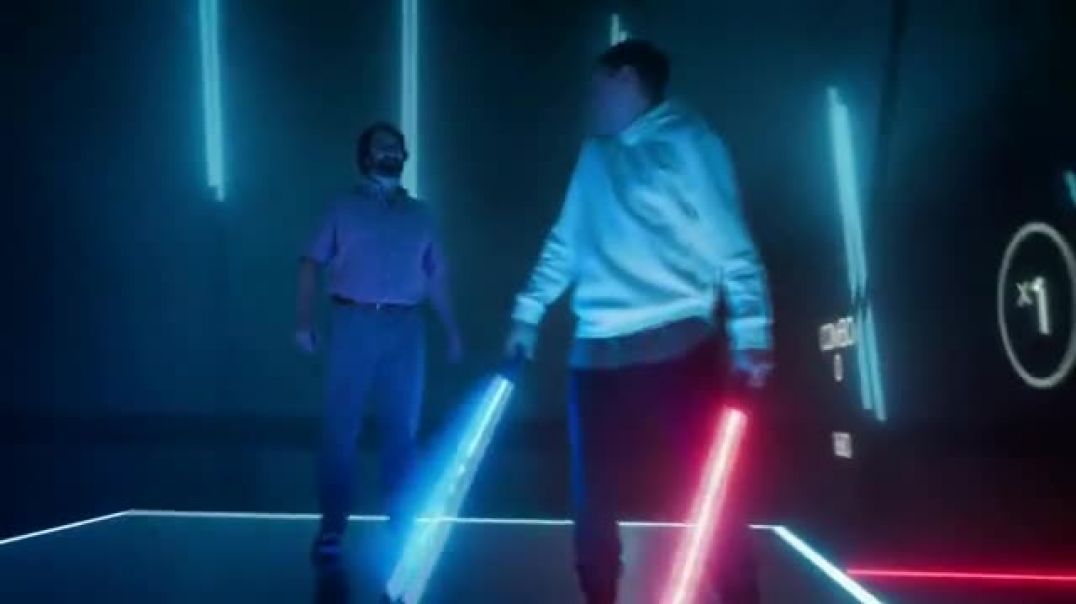Oculus Quest TV Commercial Ad Defy Reality Beat Saber Featuring Eric Wareheim .mp4