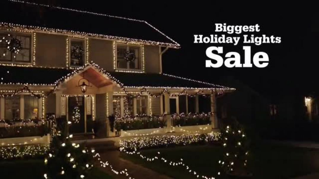 ACE Hardware Biggest Holiday Lights Sale TV Commercial Ad Buy One Ad Get One Free .mp4