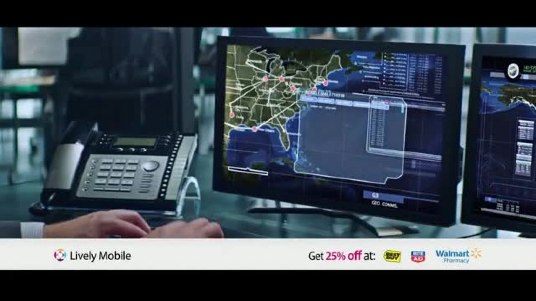 GreatCall Lively TV Commercial Ad Rescue Center Fathers Day Feat. John Walsh .mp4