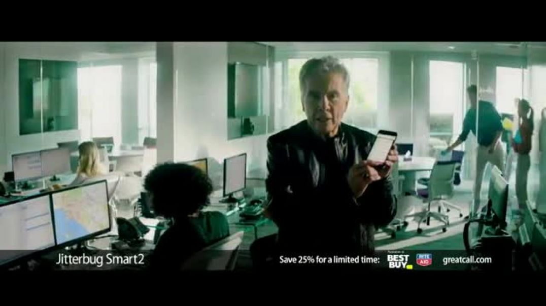 GreatCall Jitterbug Smart2 Heart Health Month TV Commercial Ad A Simple Smartphone for Seniors to Us