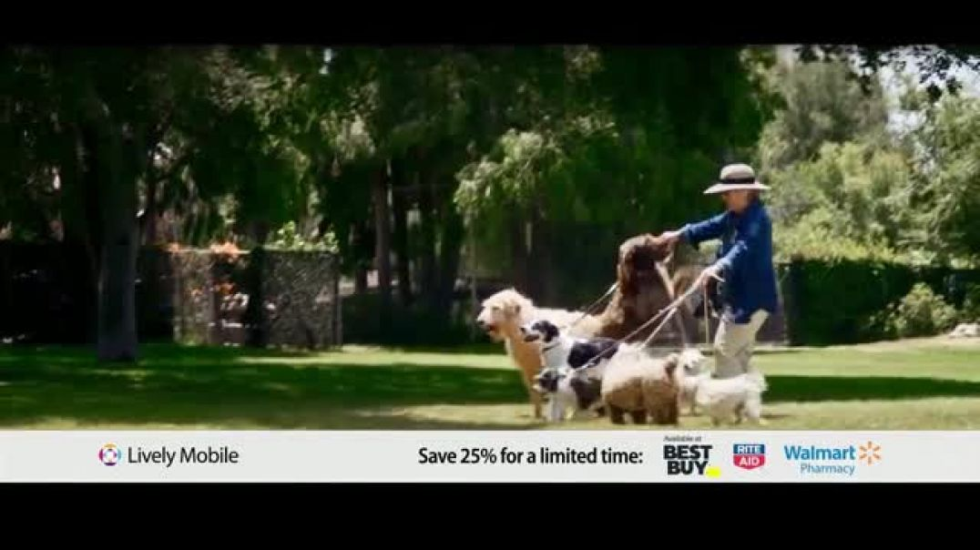 GreatCall Lively Mobile TV Commercial Ad Mom Volunteers 25 Percent Off .mp4