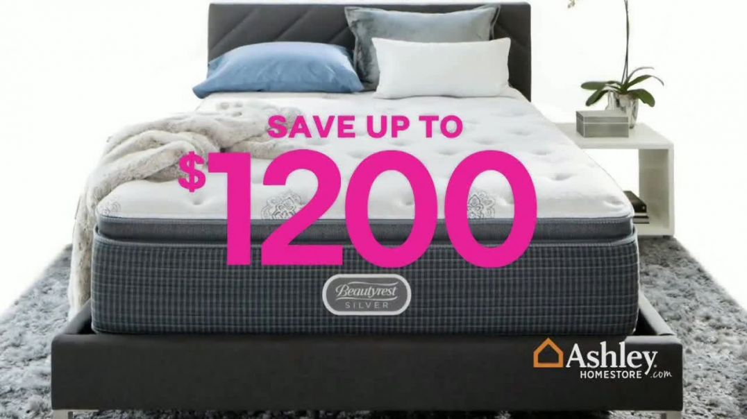 Ashley HomeStore Black Friday Mattress Sale TV Commercial Ad Going on Now Adjustable Sets Song by Mi