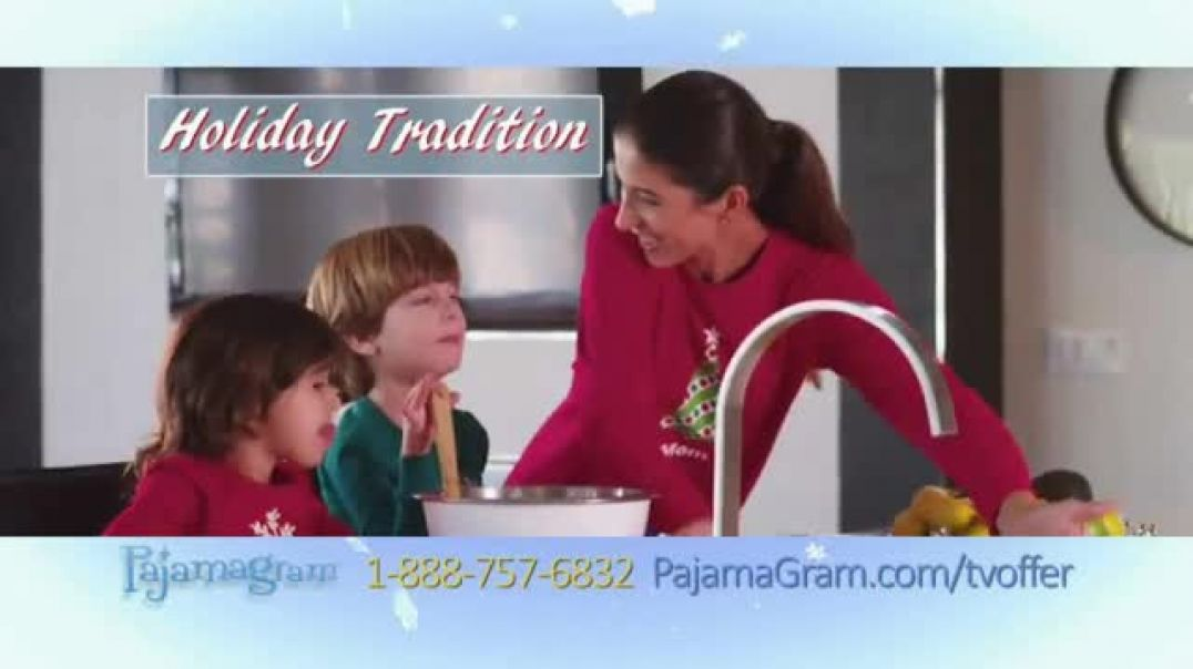 Pajamagram TV Commercial Ad Perfect Family Gift Featuring Kevin Harrington.mp4