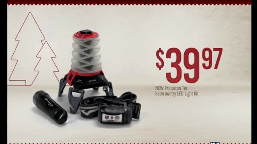 Bass Pro Shops 4Day PreBlack Friday Sale TV Commercial Ad LED Light Kit Ad Trail Camera and Gift Car