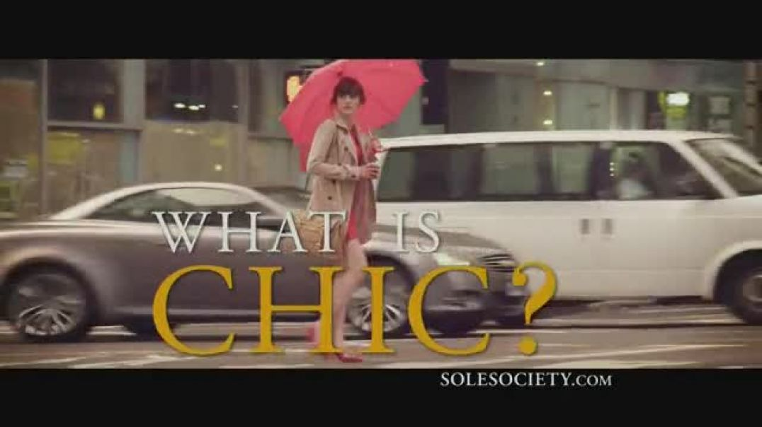Sole Society TV Commercial Ad What is Chic.mp4