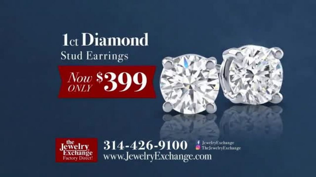 Jewelry Exchange TV Commercial Ad Insane Prices on Diamond Studs and Solitaires.mp4