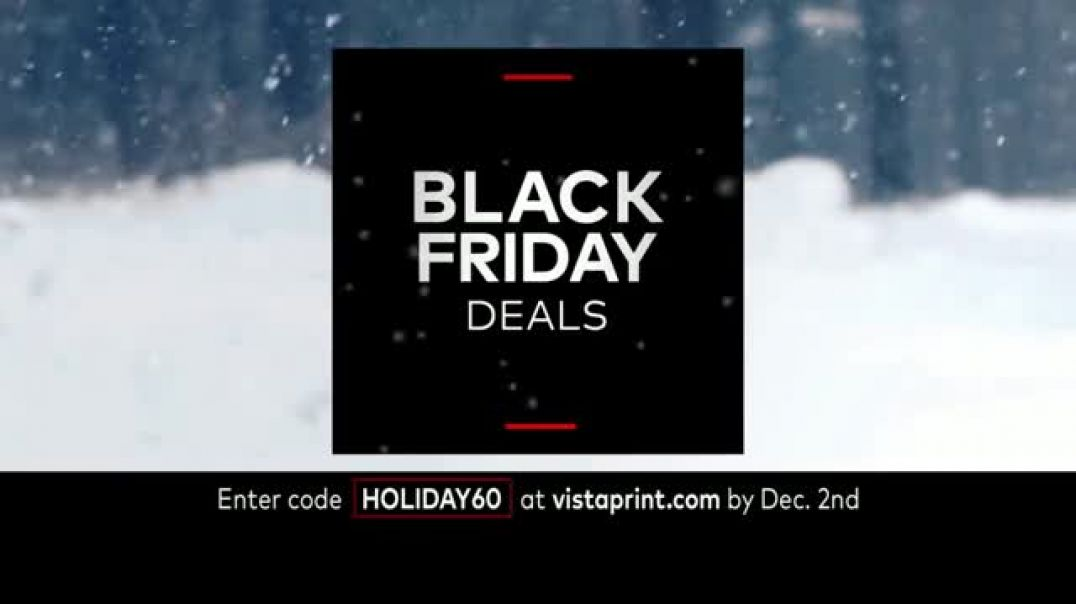 Vistaprint Black Friday & Cyber Monday Deals TV Commercial Ad Happening Now Cards &a
