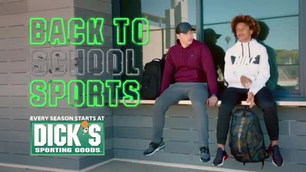 Dicks Sporting Goods Cyber Week TV Commercial Ad Back to School Nike and adidas.mp4