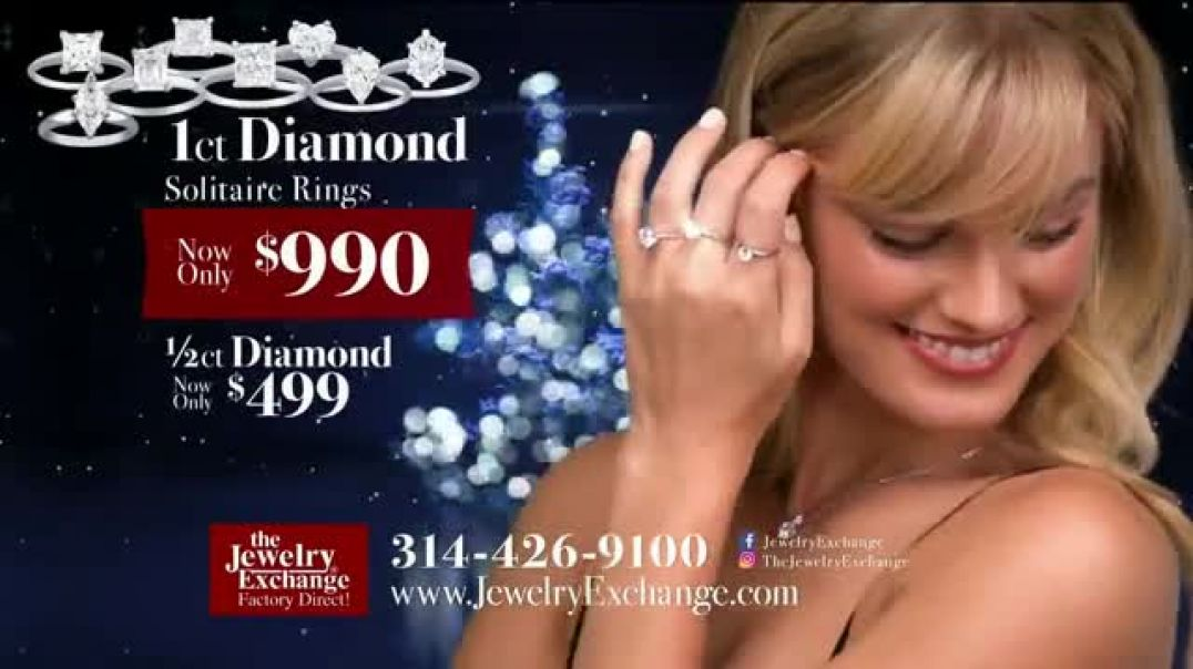 Jewelry Exchange TV Commercial Ad Timeless Gift Rings and Earrings.mp4