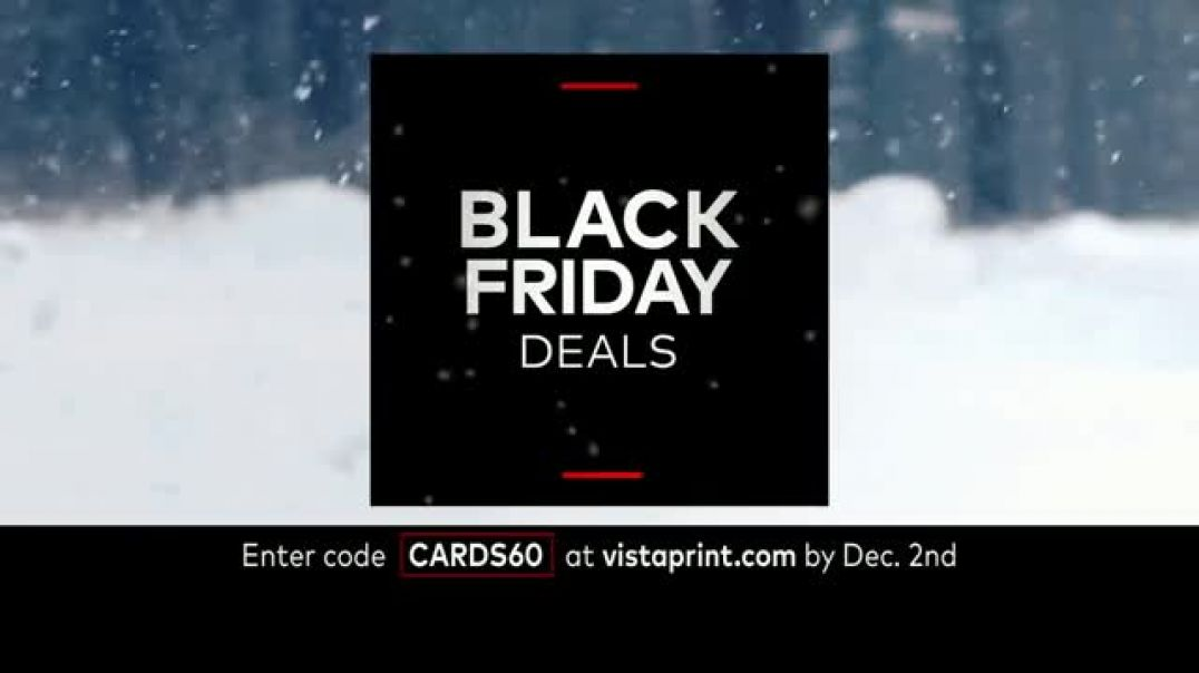 Vistaprint Black Friday & Cyber Monday Deals TV Commercial Ad Happening Now Song by Wend