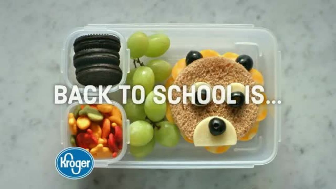 The Kroger Company Buy 5 Save $5 Event TV Commercial Ad Back to School Donations.mp4