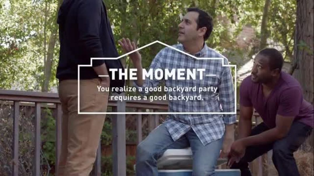 Lowes Spring TV Commercial Ad Good Backyard Moment Premium Mulch.mp4