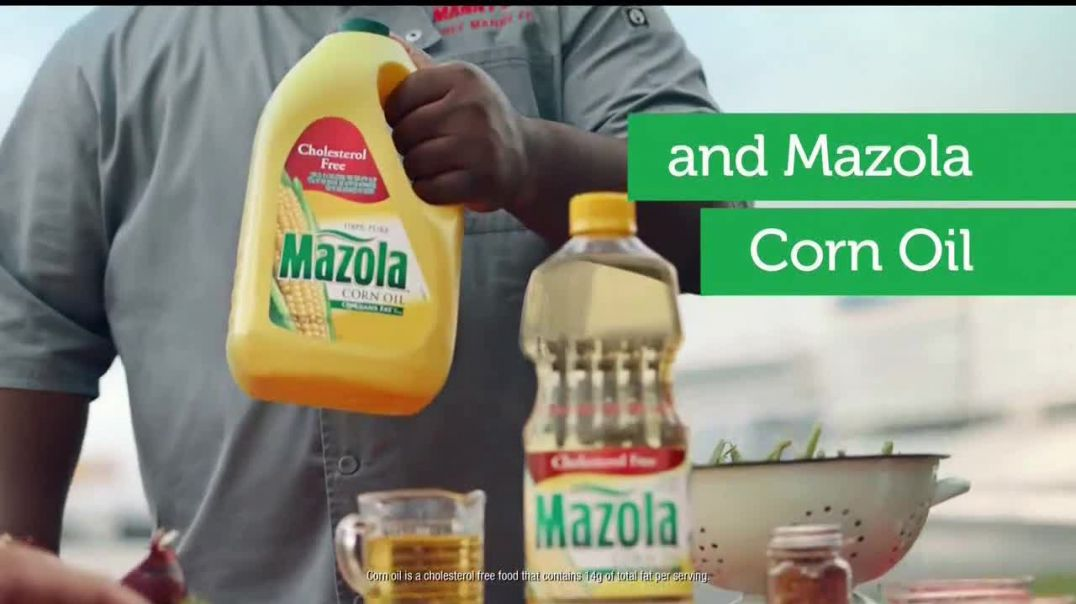 Mazola TV Commercial Ad Team Up Featuring Ryan Newman, Chef Manny Washington.mp4