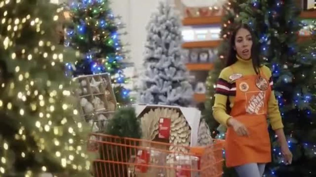 The Home Depot TV Commercial Ad Bring More Cheer Holiday Decor.mp4