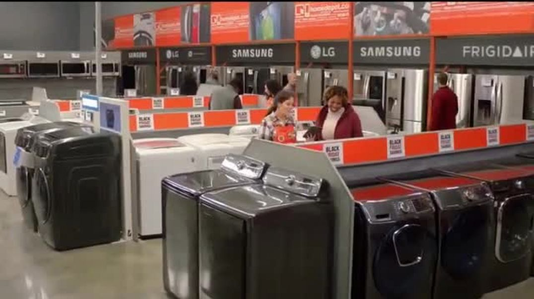 The Home Depot Black Friday Savings TV Commercial Ad Samsung Suite.mp4