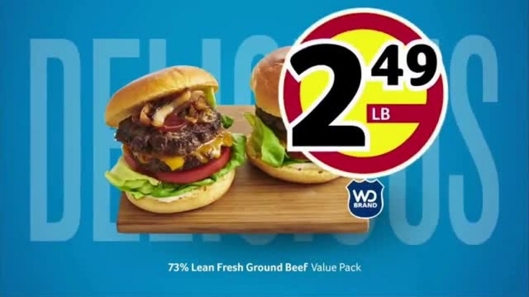 WinnDixie TV Commercial Ad Summer Ground Beef Ad Dole Salads and Natural Light.mp4