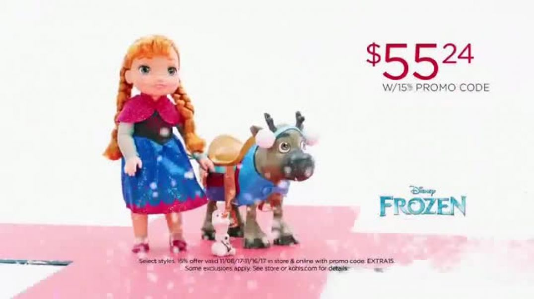Kohls TV Commercial Ad Give Joy Ad Get Joy Star Wars Ad Coco and Frozen.mp4