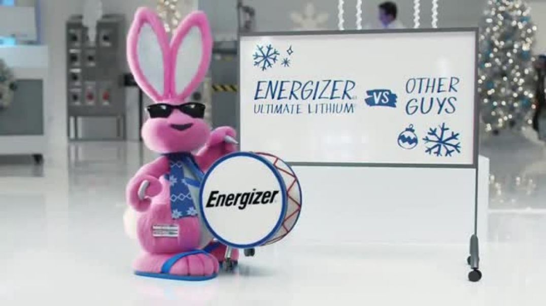 Energizer Ultimate Lithium TV Commercial Ad Holidays Penguins.mp4