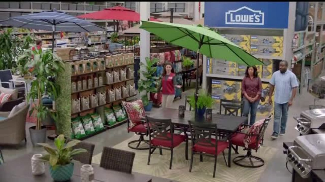 Lowes 4th of July Savings TV Commercial Ad The Moment Good Back Yard Mulch.mp4