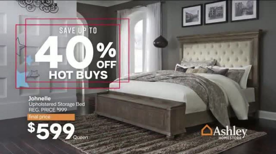 Ashley HomeStore Veterans Day Sale TV Commercial Ad Final Days 40 Percent Off Hot Buys.mp4