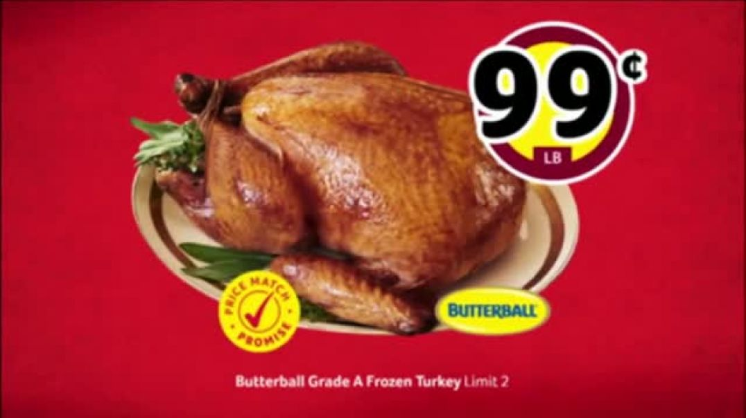 WinnDixie TV Commercial Ad Bring the Love Turkey and Steak.mp4