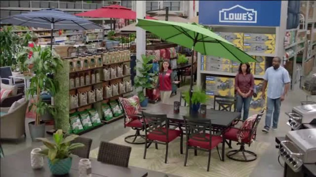 Lowes Spring Black Friday TV Commercial Ad Good Backyard Pint Annuals.mp4